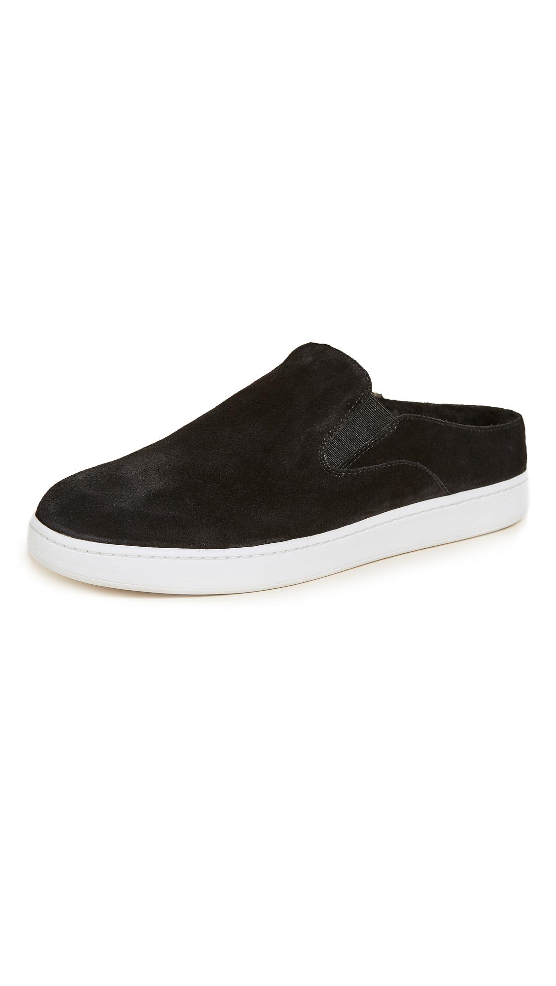 Vince Verrell 3 Slip On Mule Sneakers - Black