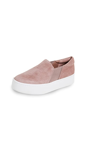Vince Warren Platform Slip On Sneakers