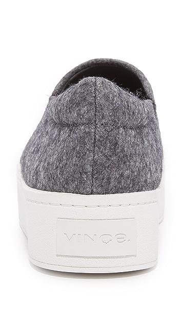 Vince Warren Platform Slip On Sneakers