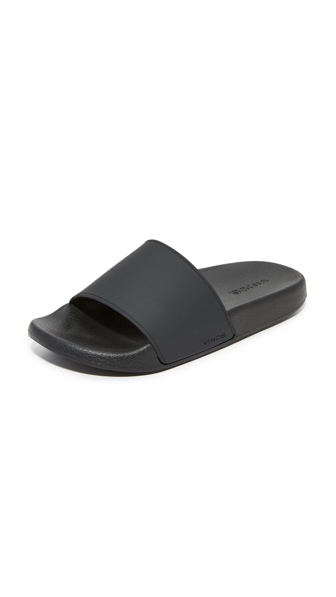 Vince Westcoast Slide Sandals - Black