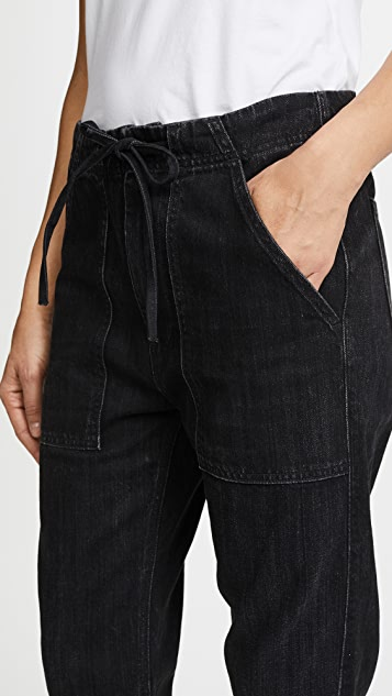 Vince Patch Front Utility Jeans