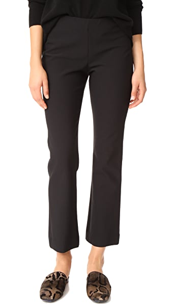 Vince Crop Flare Pants - Black