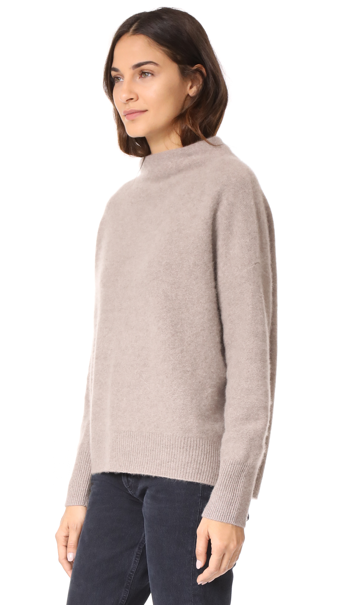 e498151f6400be Vince Funnel Neck Cashmere Pullover | SHOPBOP
