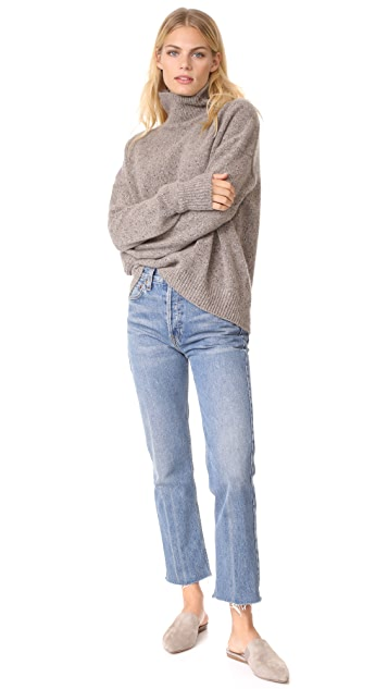 Vince Cashmere Turtleneck Pullover
