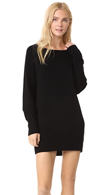 Vince Boat Neck Sweater Dress