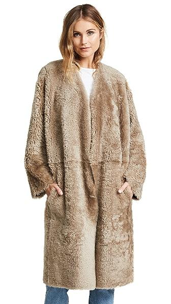 Vince Reversible Shearling Coat at Shopbop