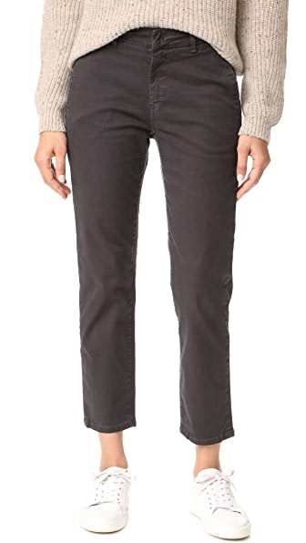 Vince Classic Chino Pants - Licorice