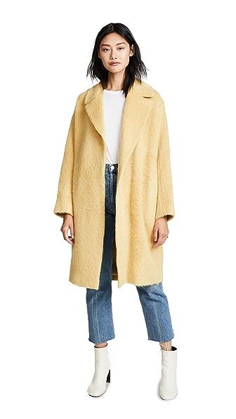 Vince Shaggy Coat at Shopbop