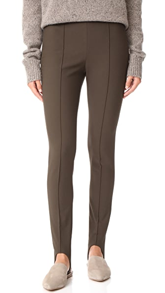 Vince Stirrup Pants In Dark Willow