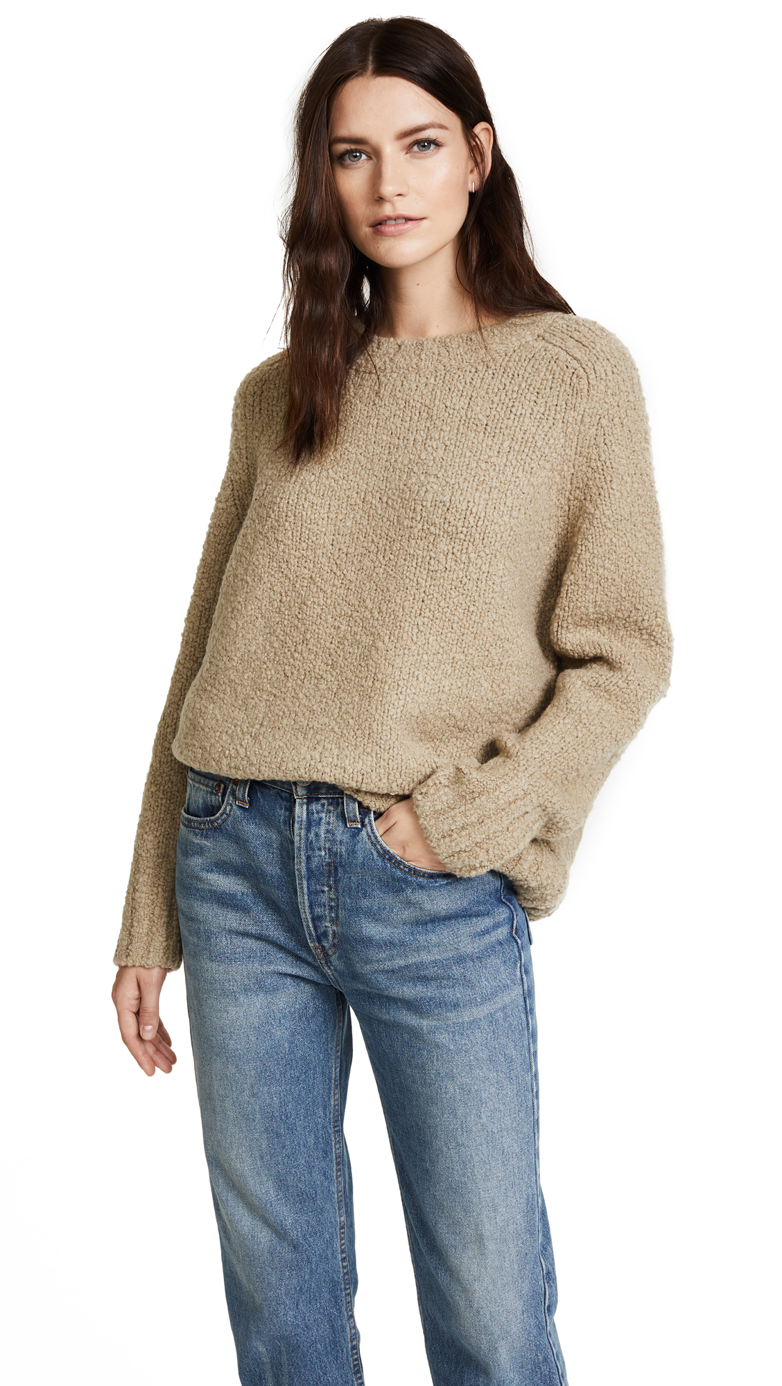 Vince Saddle Sleeve Pullover