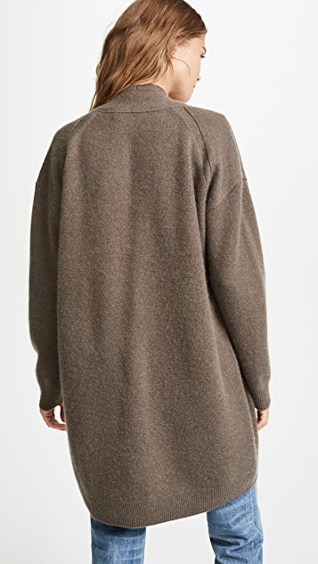 Vince Drop Shoulder Cashmere Cardigan