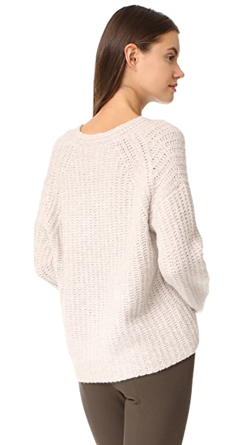 Vince Deep V Neck Pullover