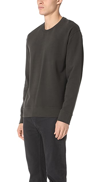 Vince Seamed Crew Sweatshirt