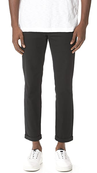 Vince Patched Cropped Trousers