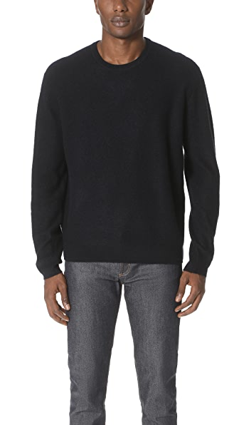 Vince Oversized Crew Neck Sweater
