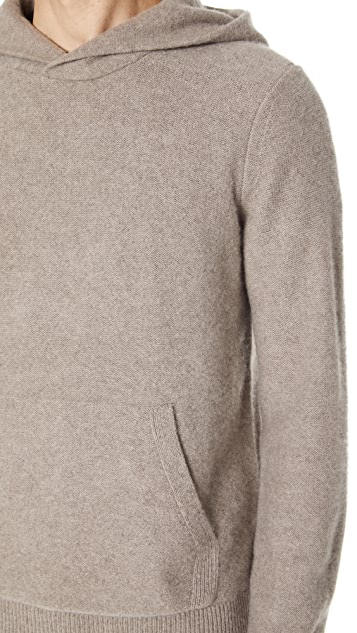 Vince Hooded Cashmere Sweater