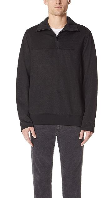 Vince Half Zip Mock Neck Sweater