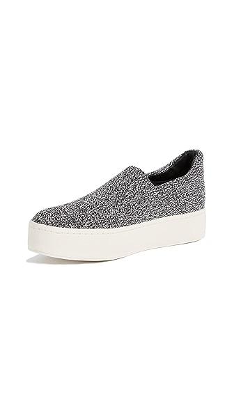 Vince Walsh Platform Sneakers In Grey Marl