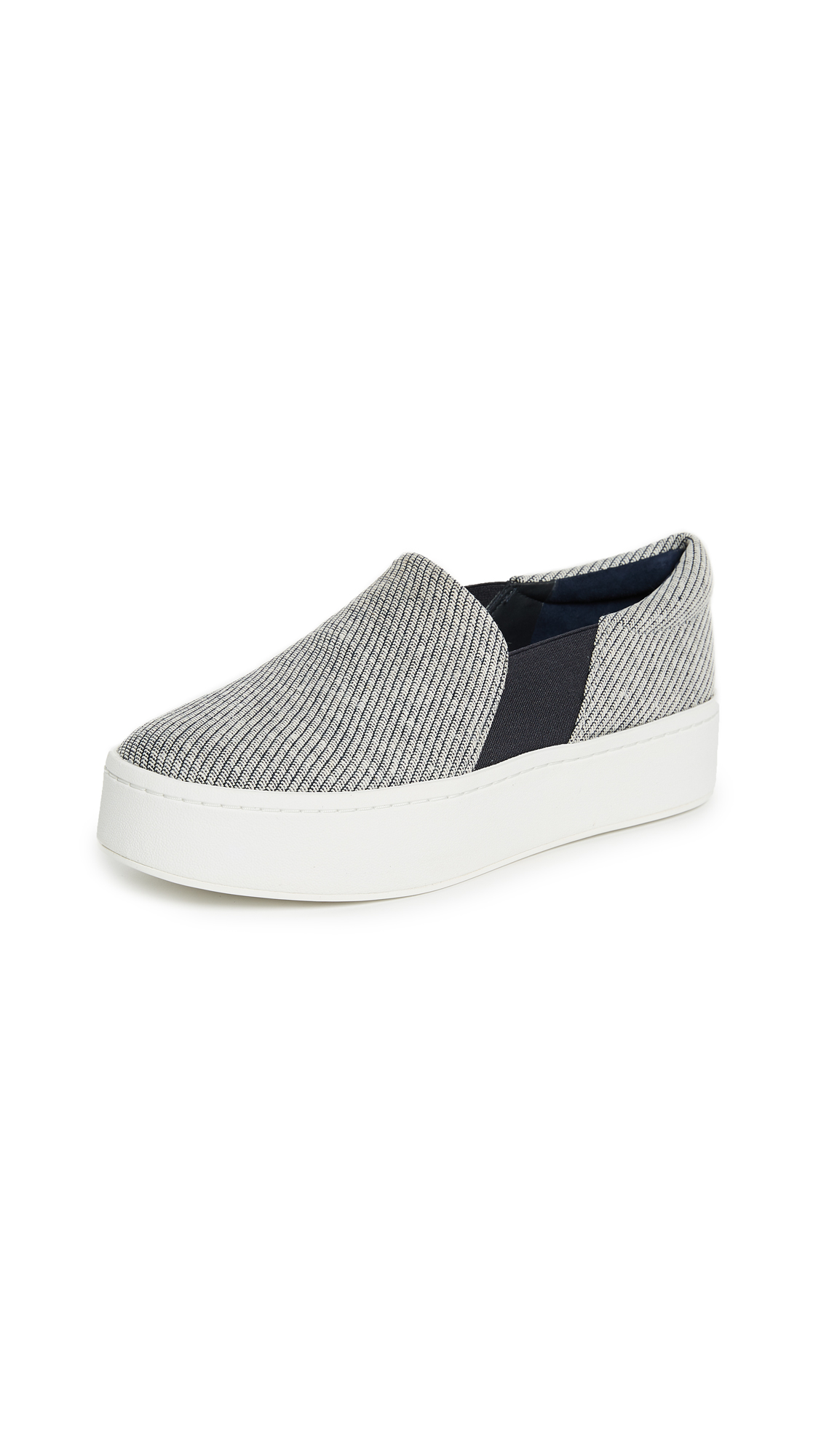 Vince Warren Platform Sneakers - Coast/White
