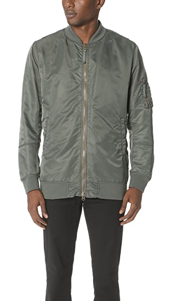 Vince Elongated Aviator Jacket