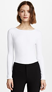 Vince Rib Long Sleeve