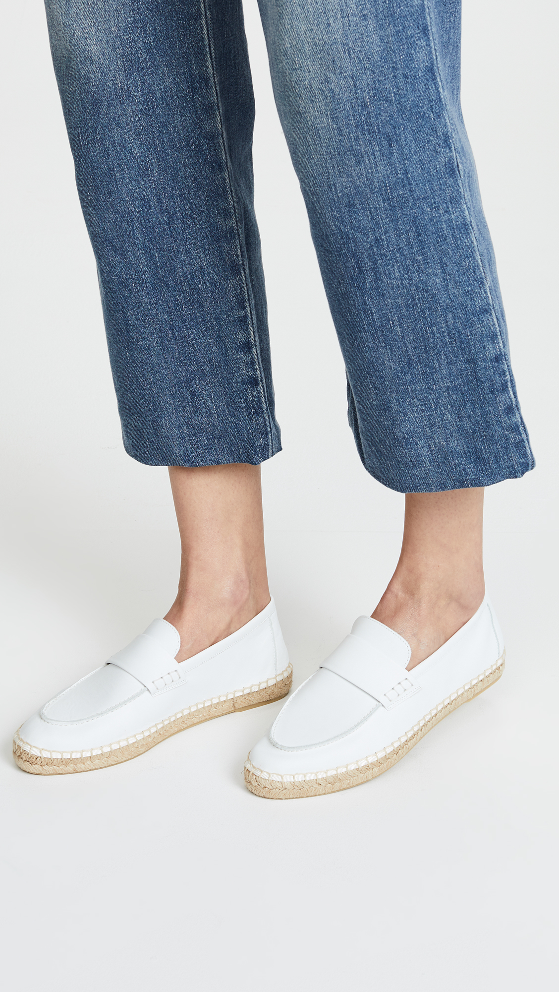 Vince Daria Leather Loafers Vl0iY29E