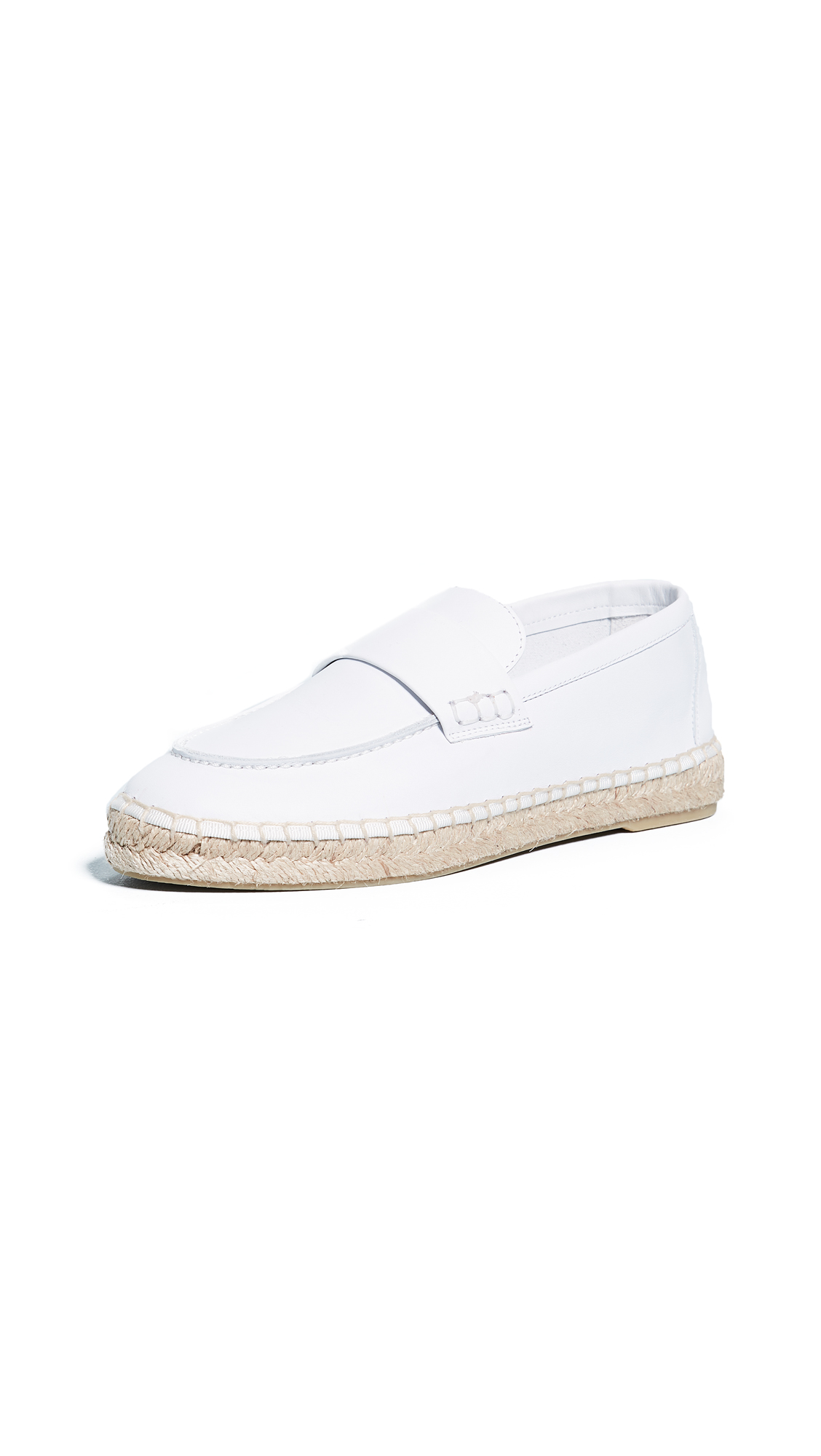 Vince Daria Espadrille Loafers - White