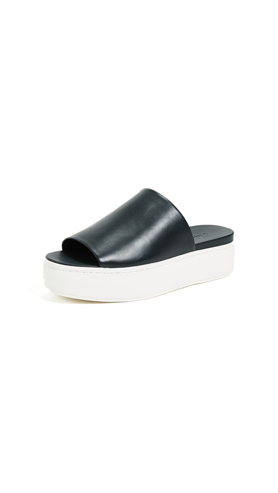 Vince Walford Flatform Slides In Black