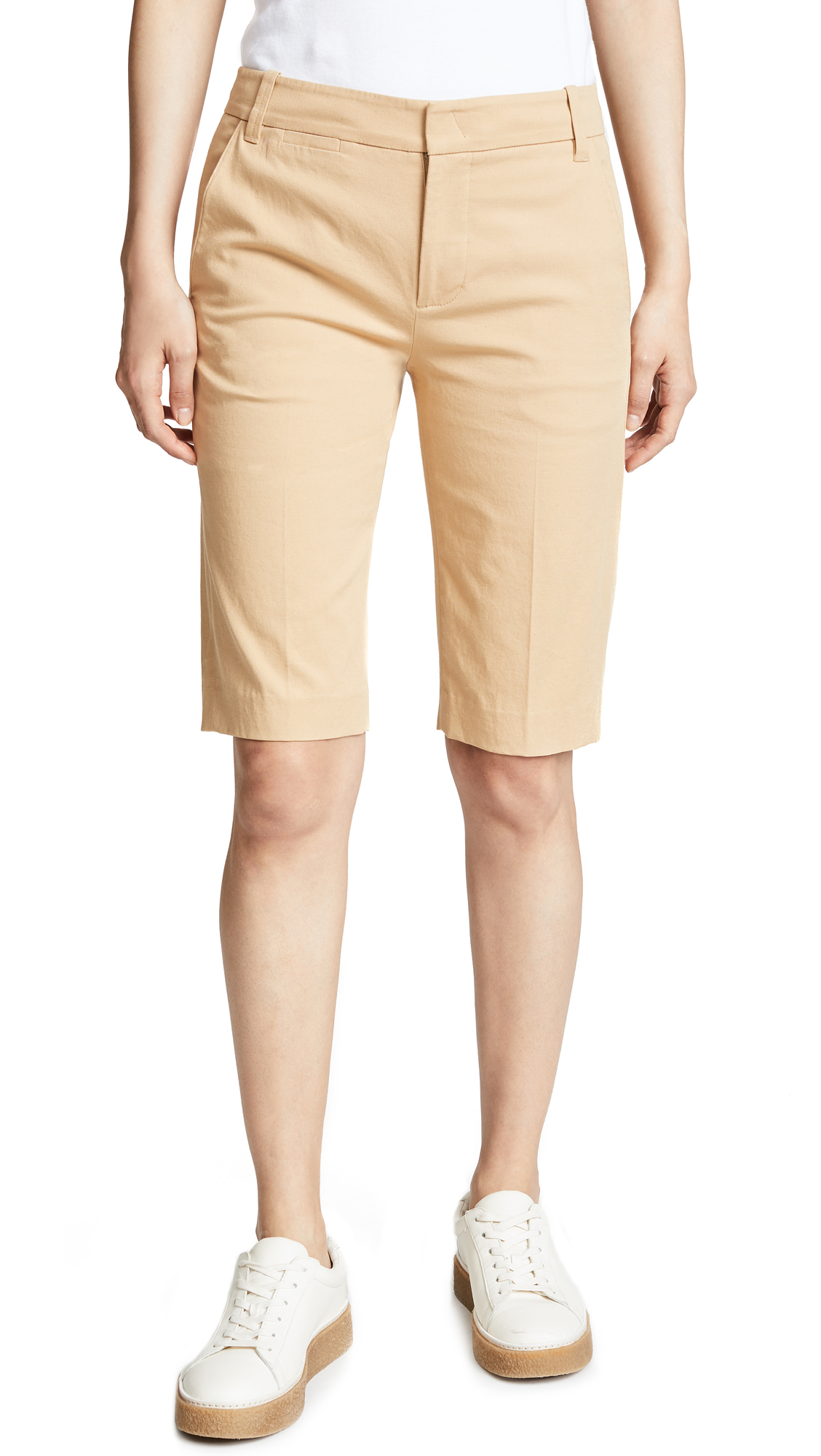 Vince Coin Pocket Bermuda Shorts - Khaki