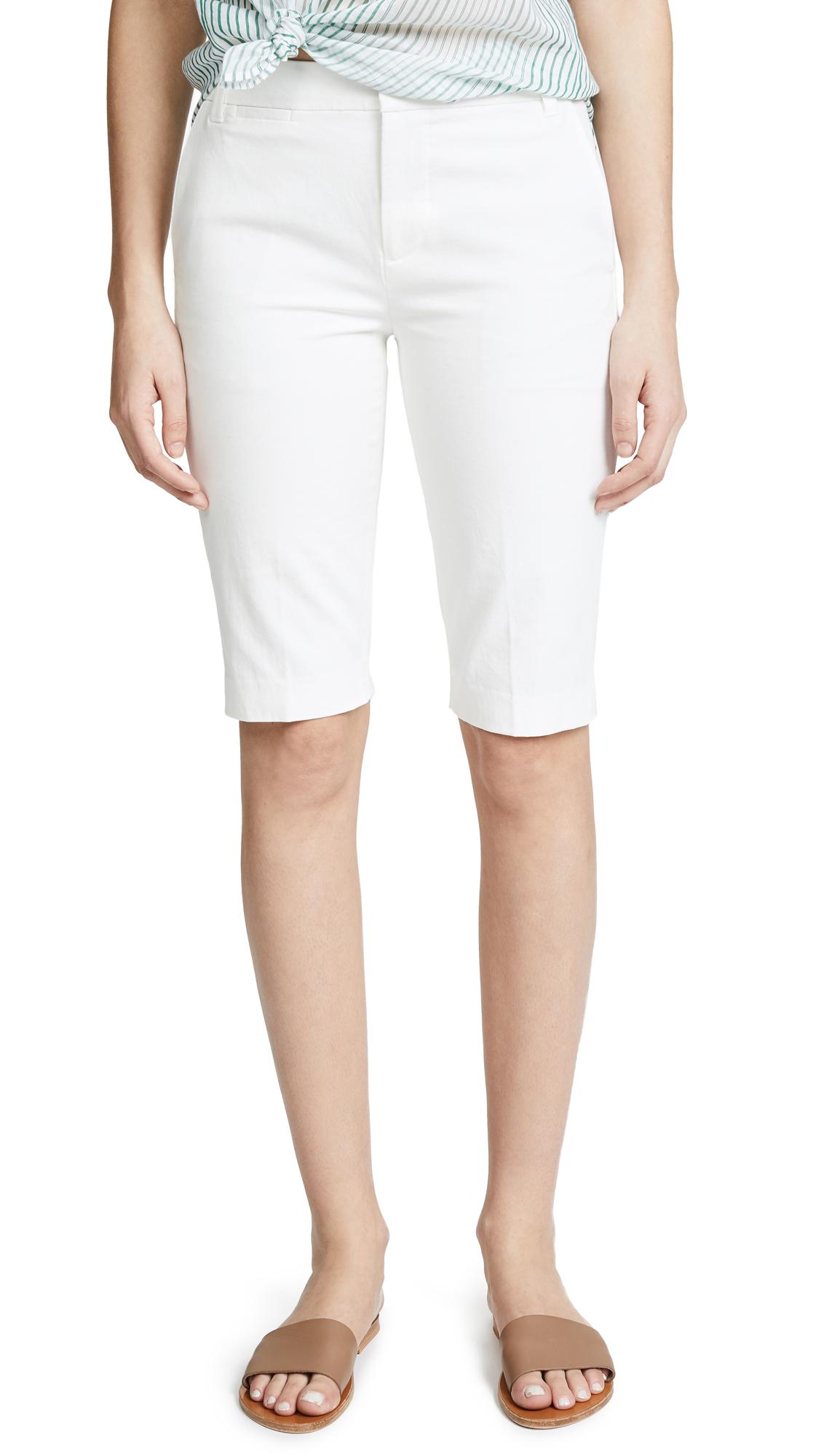 Vince Coin Pocket Bermuda Shorts - Off White