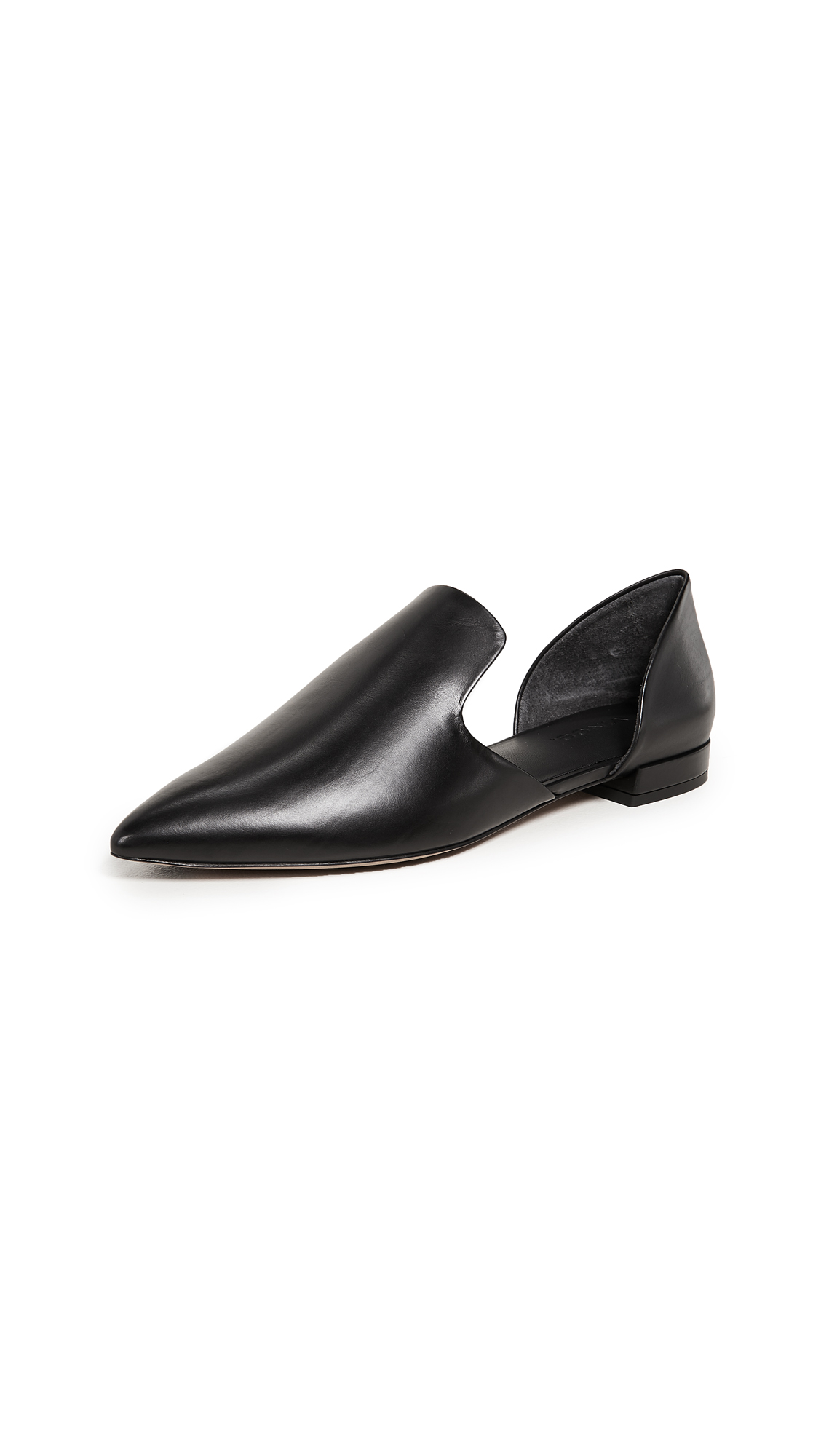 Vince Damris Loafers - Black