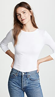 Vince Elbow Sleeve Pullover Top
