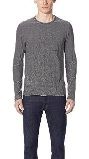 Vince Feeder Stripe Pullover