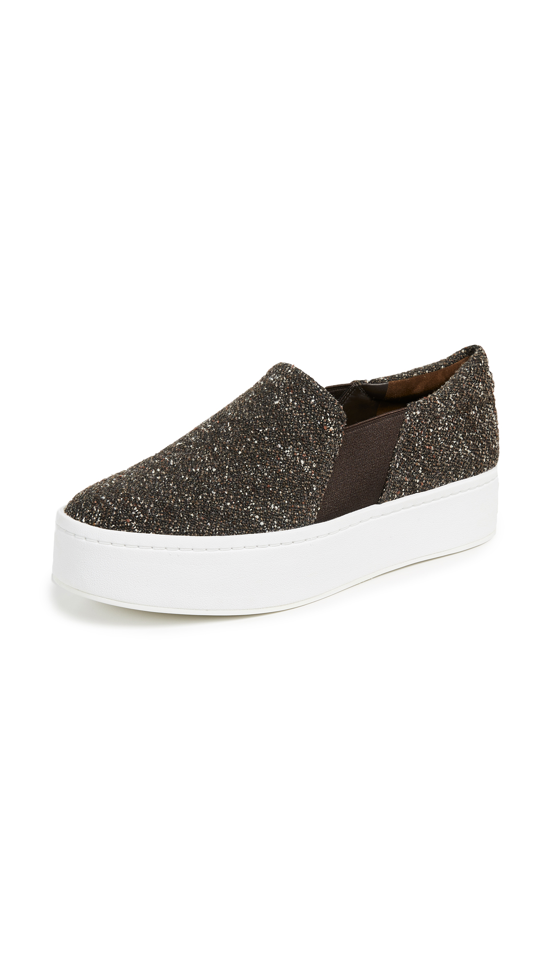 Vince Warren Slip On Sneakers - Umber
