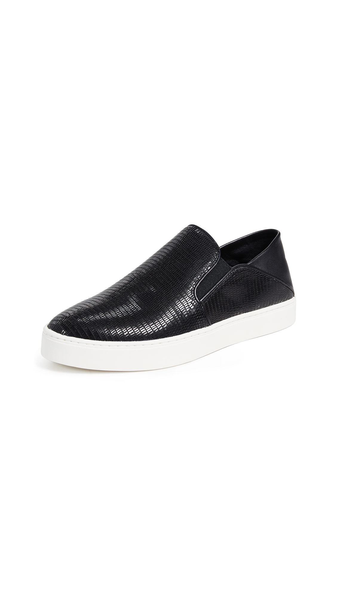 Vince Garvey Slip On Sneakers - Black