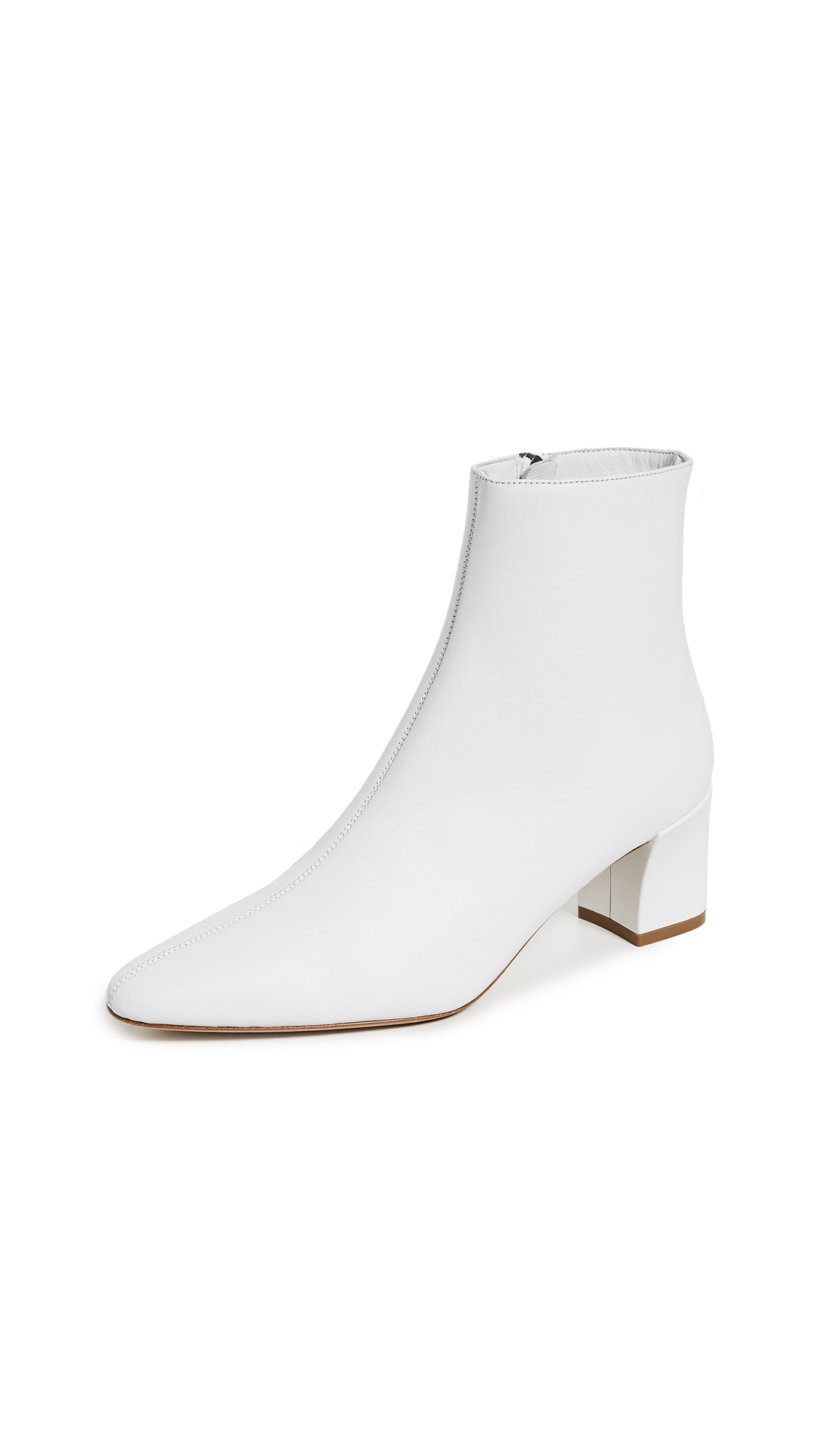 Vince Lanica Booties - White