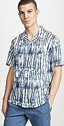 Vince Shibori Printed Cabana Shirt