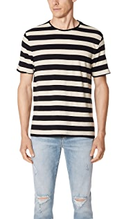 Vince Striped Crew Tee