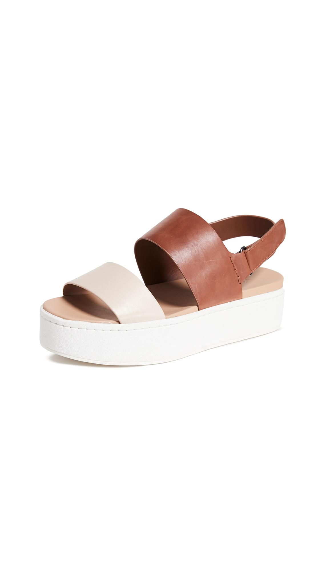Vince Westport Platform Sandals - Putty/Russ