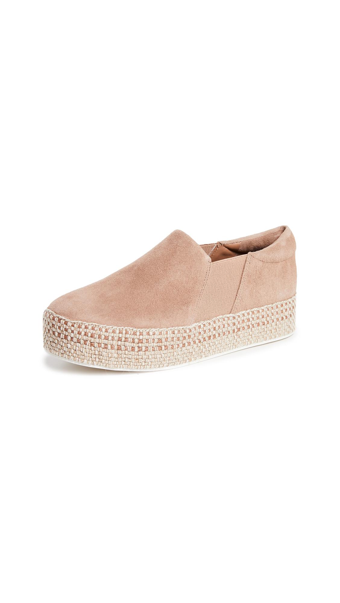 Vince Wilden Platform Slip On Sneakers - Sand