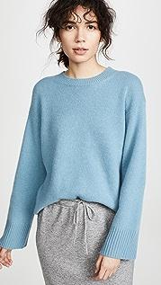 Vince Объемный кашемировый пуловер