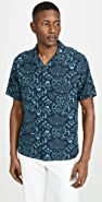 Vince Lotus Leaf Cabana Shirt