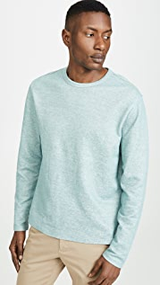 Vince Double Knit Crew Neck Shirt