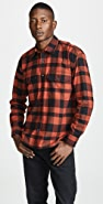 Vince Buffalo Plaid Overshirt