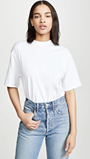 Vince Wide Sleeve Crop T-Shirt