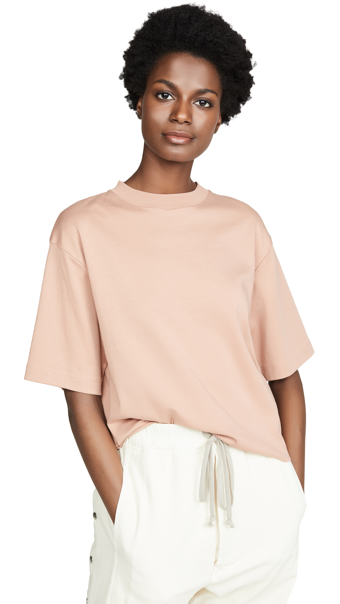VINCE CAMUTO | Vince Wide Sleeve Crop T-Shirt | Goxip