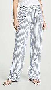 Vince Wide Leg Stripe Pants