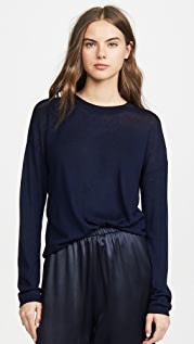 Vince Long Sleeve Sweater Tee