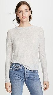 Vince Long Sleeve Sweater Tee