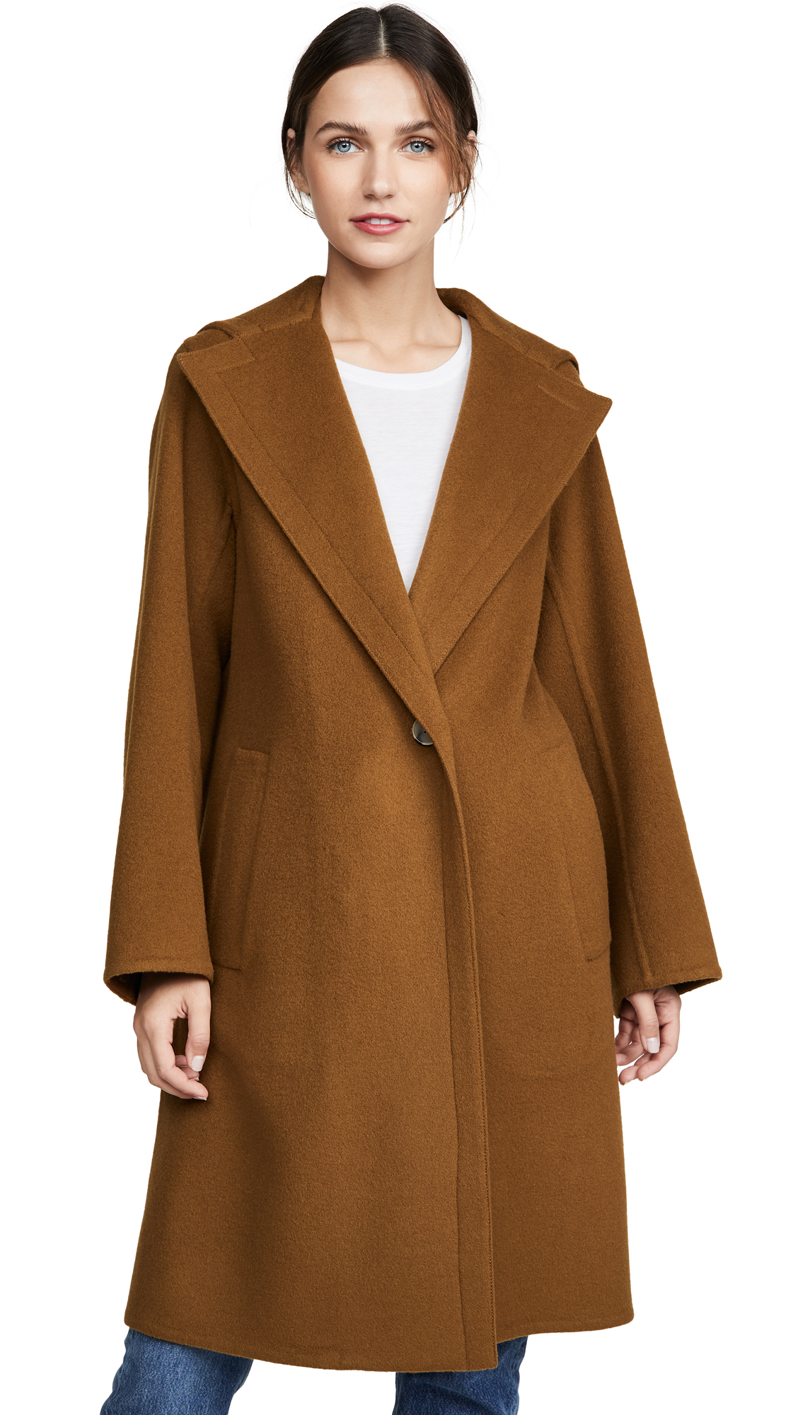 Buy Vince online - photo of Vince Hooded Coat